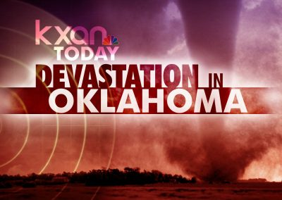 KXAN Devastation in Oklahoma Showcasing