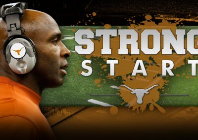 "UT Longhorns/Charlie Strong ""Strong Start"" Showcasing"