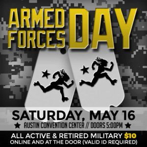 Texas Rollergirls Armed Forces Day Web Ad