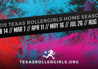 Texas Rollergirls Business Cards (Back)