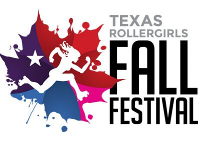 Texas Rollergirls Fall Festival Logo