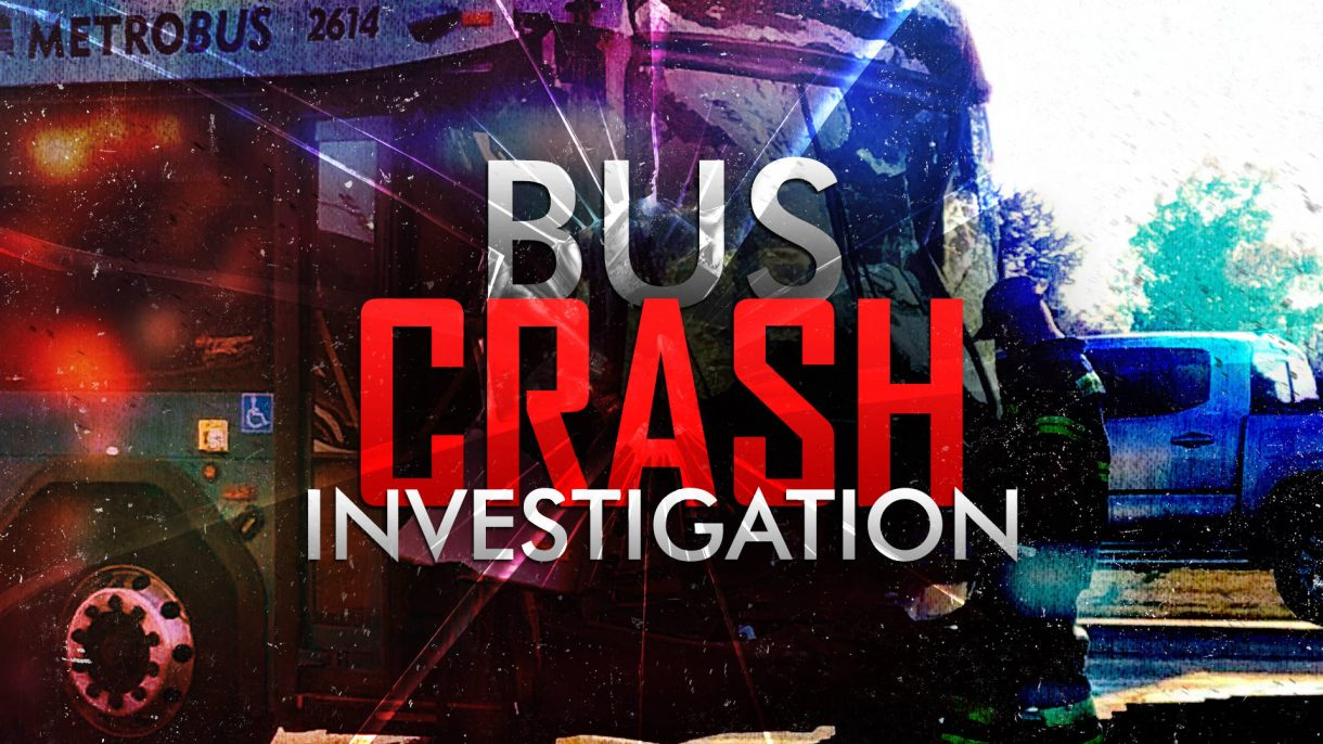 Capmetro Bus Crash Investigation Monitor/OTS Graphic