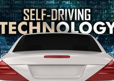 Self-Driving Technology Monitor/OTS Graphic